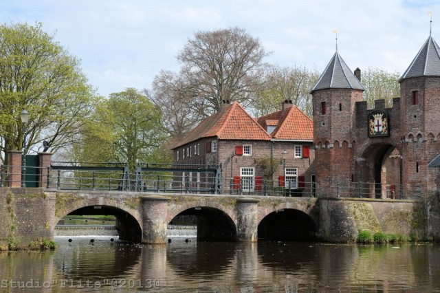 Koppelpoort Of Stadspoort Amersfoort Prov Utrecht